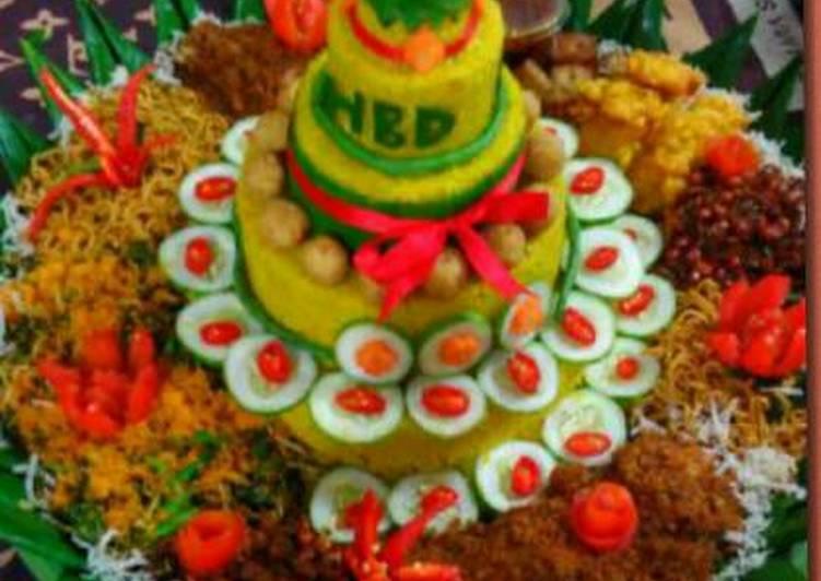 Resep Nasi Kuning Tumpeng Tradisional Oleh Icha Annisa Septiana Cookpad