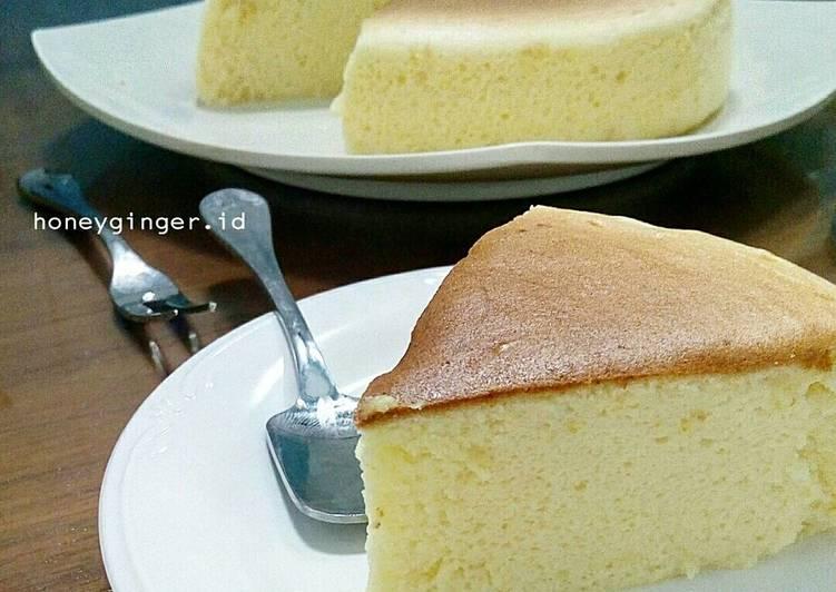 Japanese Cotton Cheesecake *ekonomis