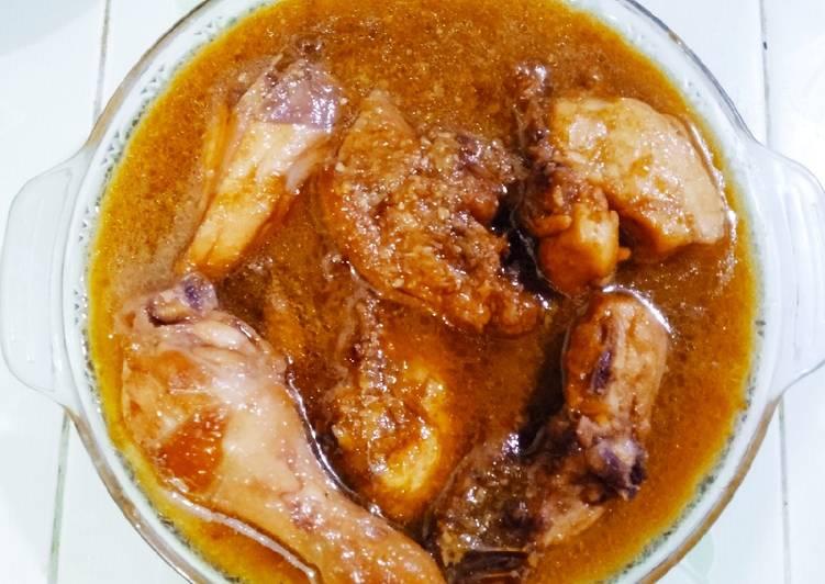 Ayam Bistik Simple
