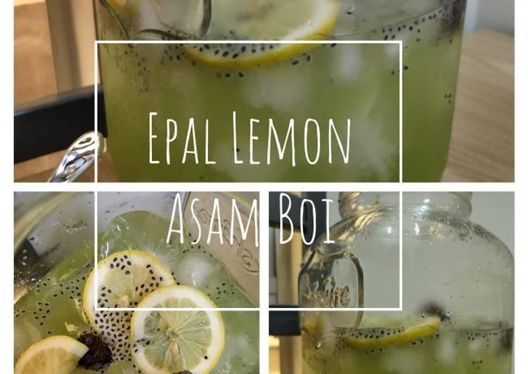 Epal Lemon Asam Boi - resepipouler.com