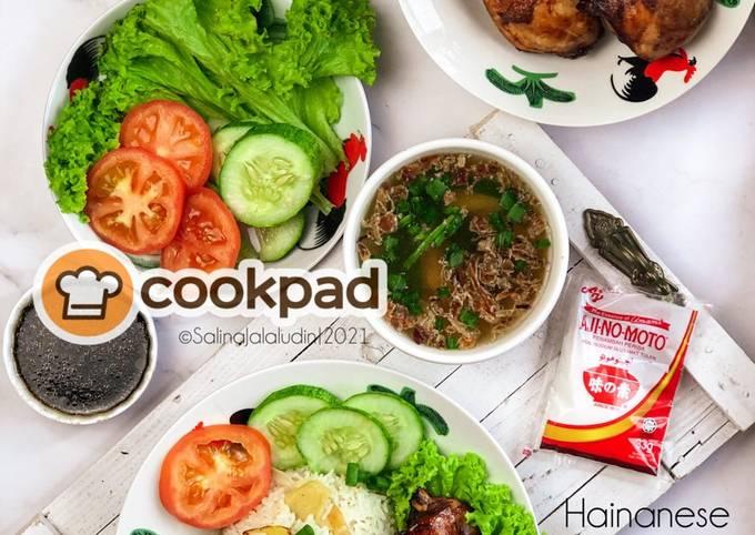 Resep Hainanese Chicken Rice Chinese Style yang Bisa Manjain Lidah