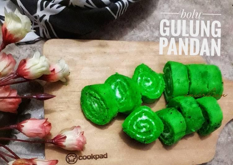 Bolu gulung pandan - cookandrecipe.com