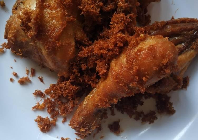 Langkah Mudah untuk mengolah Ayam goreng Lengkuas Sinjay Anti Gagal