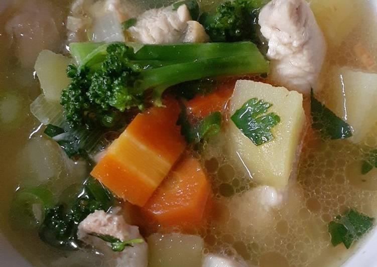 Resep Sup ayam ala hobby cooking Yang Mudah Enak