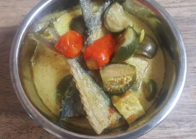 Resep Lodeh Terong Ikan Asin yang Lezat