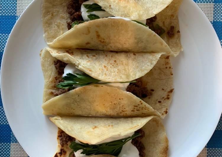 Tacos fait maison