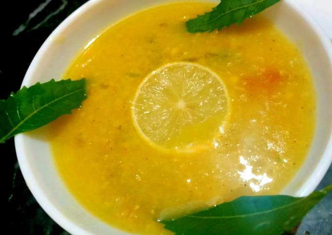 Lentil veg dalia/porridge
