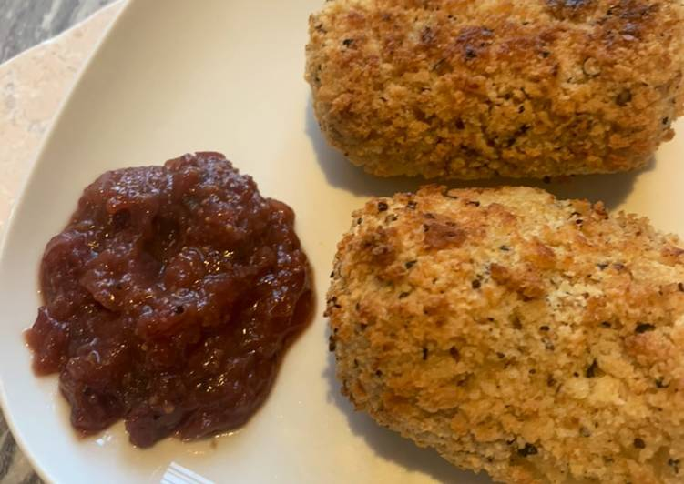 Recipe of Any-night-of-the-week Super simple celeriac croquettes (using leftovers from my duck dinner)
