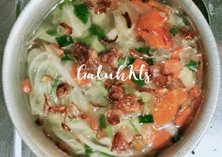 Sup Sayur Rumahan