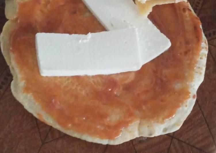 Crepes con arequipe y queso... deliciosoo y facilísimo