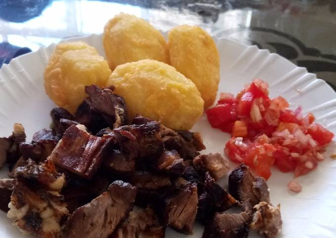 Choma with roasts