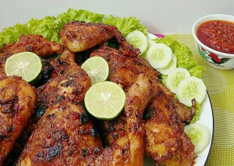 Resep Ayam bakar taliwang oleh Susan Mellyani - Cookpad