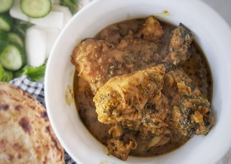 Methi(fenugreek) chicken