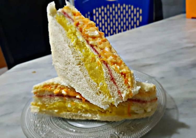 Resep Inkigayo Sandwich Ala Ala Paling Joss