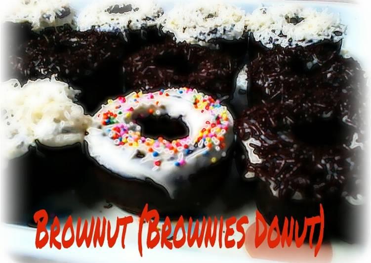 Brownut (Brownies Donut)