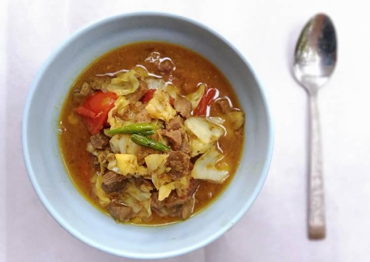 Tongseng daging kambing tanpa santan - cookandrecipe.com