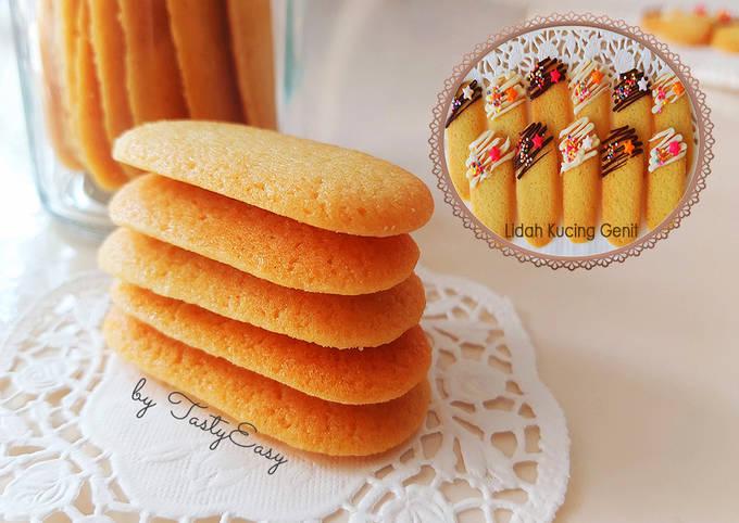 Kue Lidah Kucing Lembut dan Renyah | Cat Tongue Cookies | Kue Lidah Kucing Genit | Kue Lebaran
