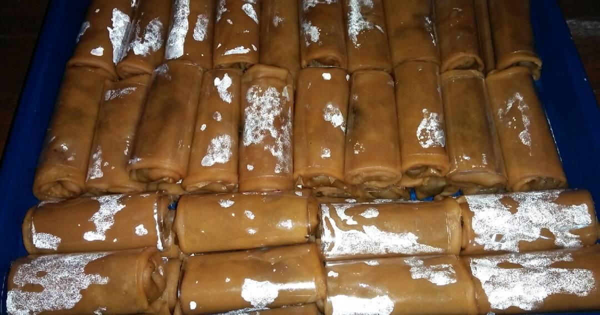 Resep 100 Dadar Gulung Pisang Coklat Untuk Jualan Oleh Dapur Mama Cellin Cookpad