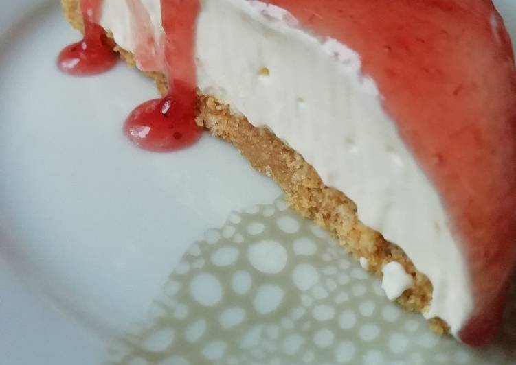 "Easy no Bake Cheesecake ""New York"" Style"