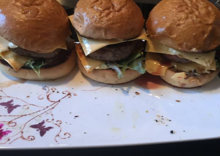 Comment Cuisiner Hamburger à la plancha