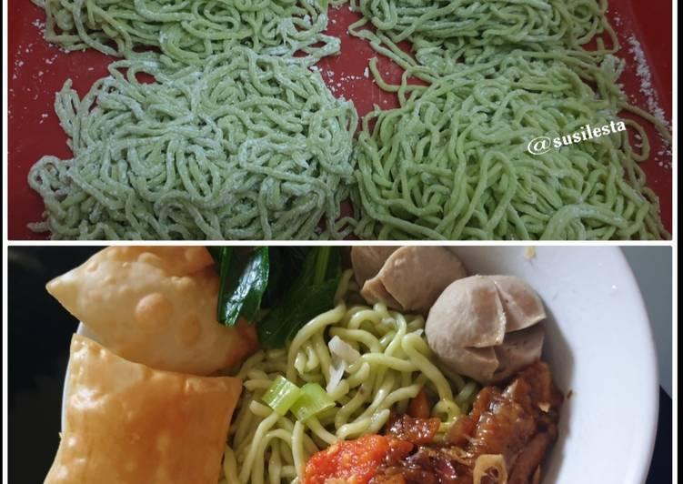 Resep Mie Homemade Kenyal dan Sehat Terenak
