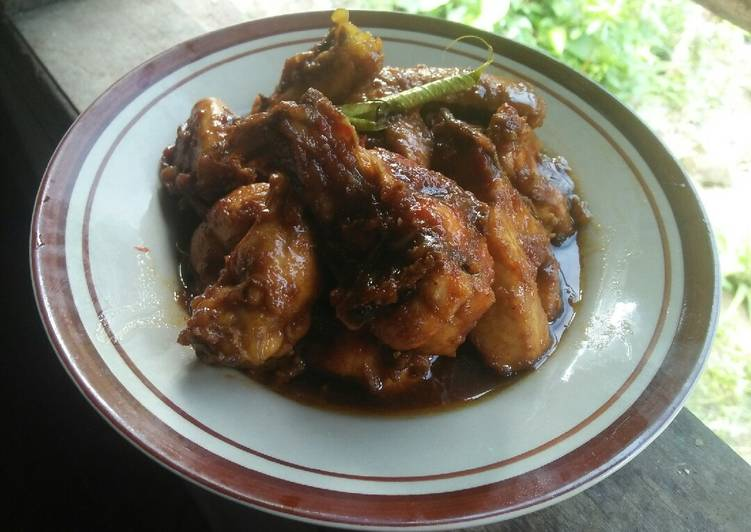 Ayam kecap simpel