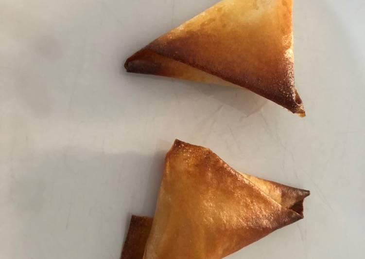 La Meilleur Recette De Samoussas lardons fromage miel 🍯