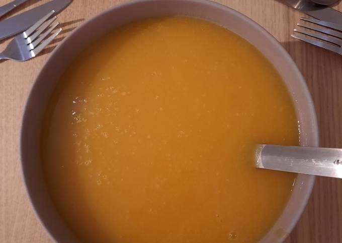 Soupe : butternut