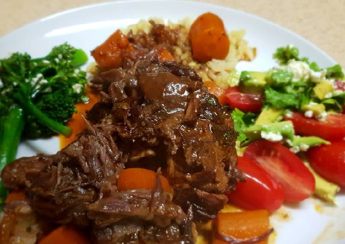 Braised Oxtail in Red wine