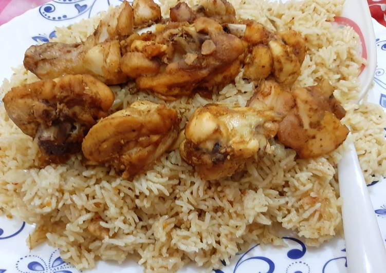 Recipe: Appetizing Chicken mandi Ramadan special