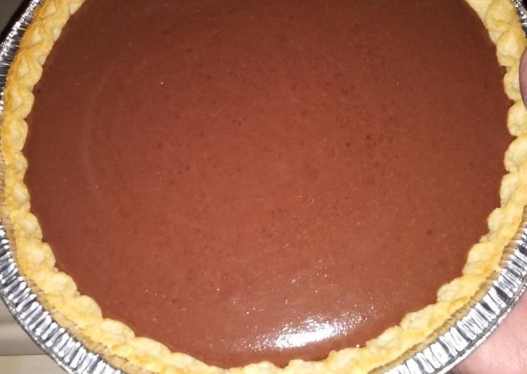 Recipe of Super Quick Homemade Quick 3 ingredient chocolate pie