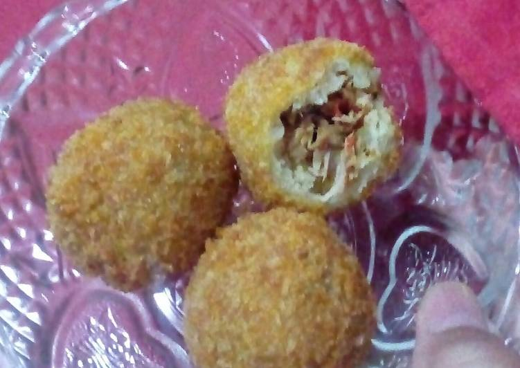 Easiest Way to Cook Tasty Tuna Fish Kroket/Croquette