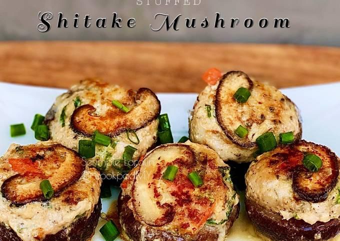 Stuffed Shitake Mushroom