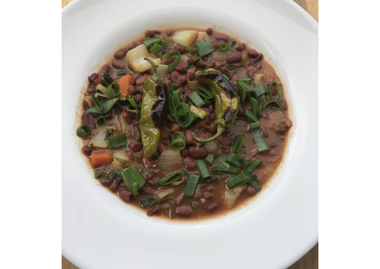 Going Green for Good Health By Consuming Superfoods White Miso Red Bean Stew FUSF