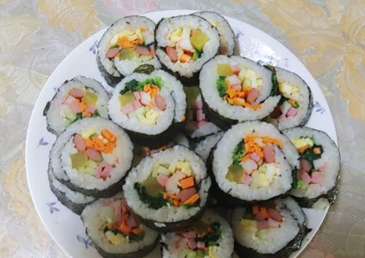 Cơm cuộn Hàn Quốc (kimpap) ♥ hình đại diện món