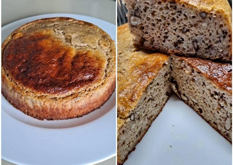 Le moyen le plus simple de Faire Parfait Gâteau de polenta miel et noix