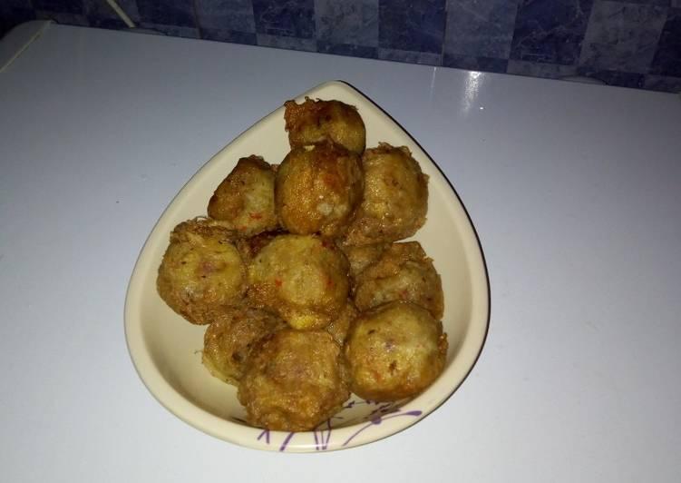 The Best Dinner Easy Refreshing Yam balls