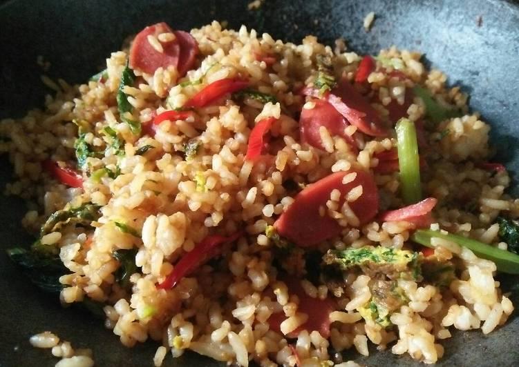 Resep Nasi Goreng Sosis Untuk Pemula