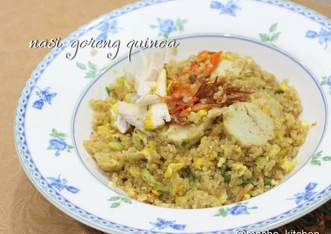 Nasi goreng quinoa