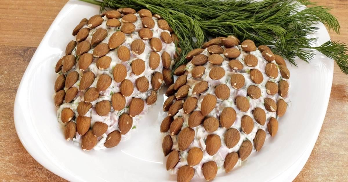 салат лесные шишки рецепт с фото ящиков треснул