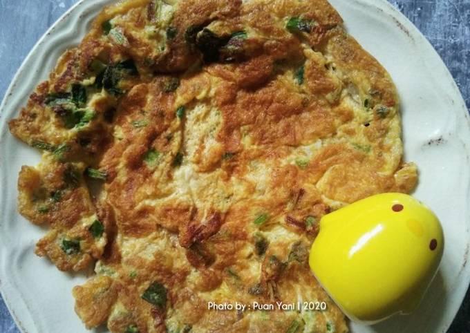 Telur Dadar 3 Bahan