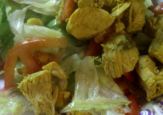 How to Cook Appetizing Rustic Chicken Salad
