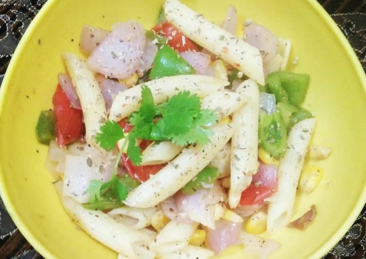 How to Make Perfect Stir fry veggie pasta