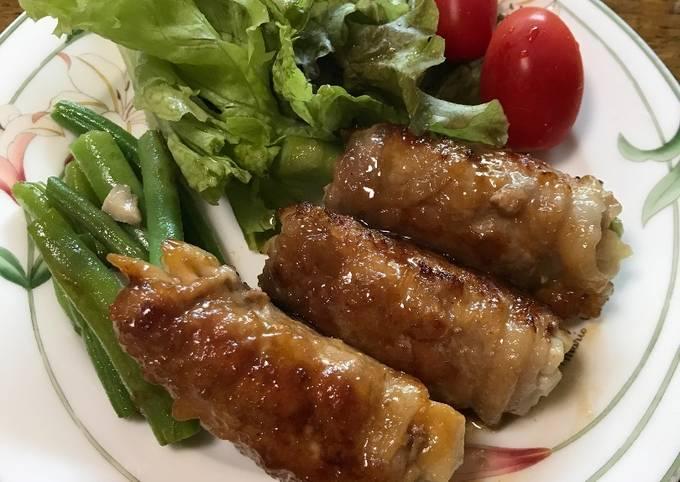Japanese pork roll ups