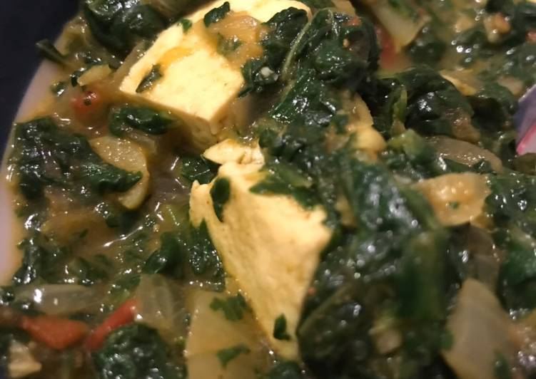 10 Minute Recipe of Quick Homestyle Palak Paneer