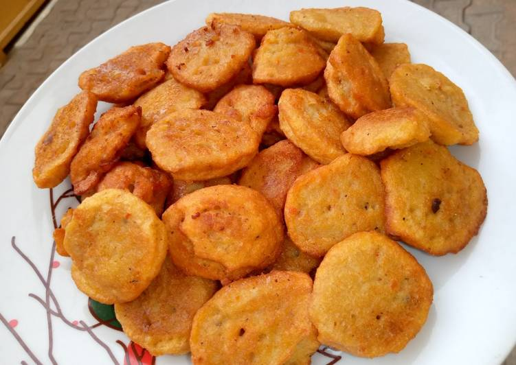 Recipe of Perfect Fried beans cake