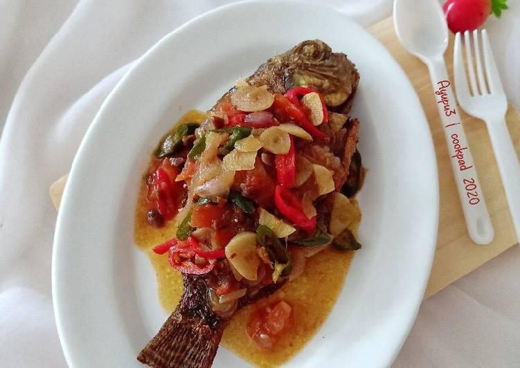 Ikan Nila Siram Tauco