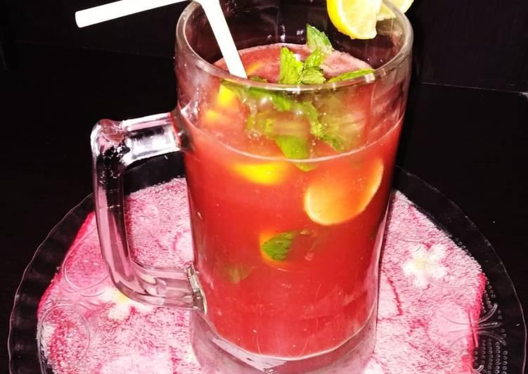 Recipe of Speedy Watermelon mojito