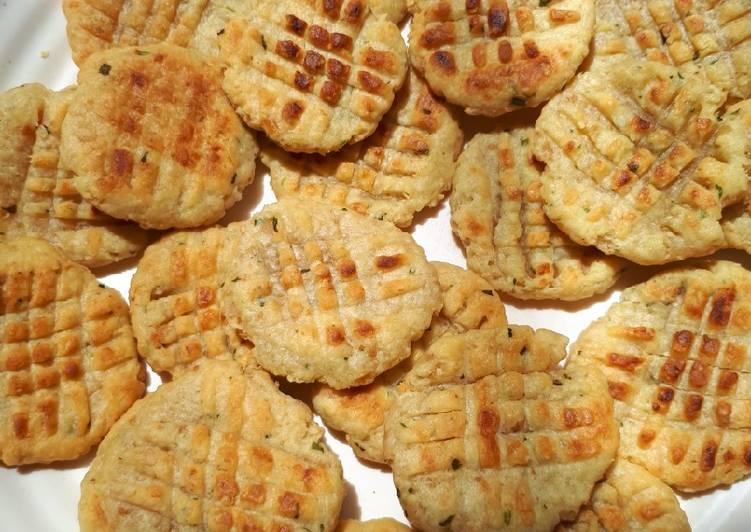 Salmon Cheese Cookies