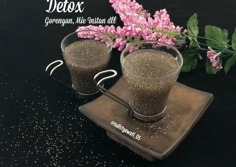 Detox GorengAn, Mie Instan, Bakso, Cireng, Sosis dll  Minuman Anti Inflamasi